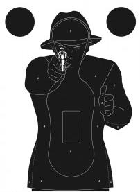 cible de tir entrainement