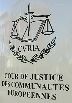 cour de justice des communautés européennes
