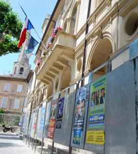 panneaux électoraux
