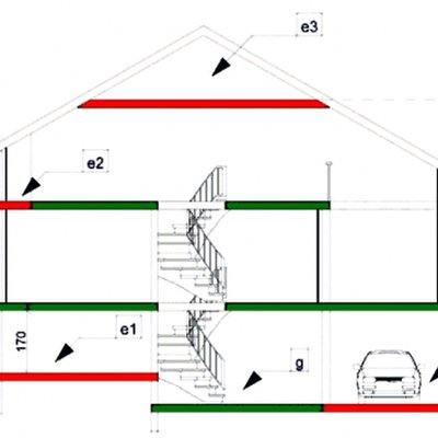 Dile la surface de plancher - Comment calculer la surface a peindre ...