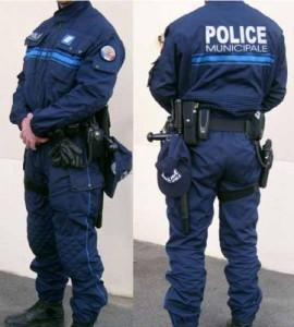 uniforme de la police municipale