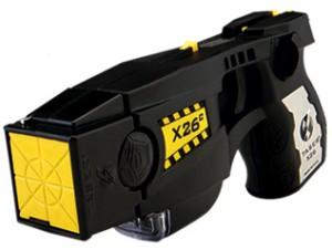 pistolet à impulsions électriques