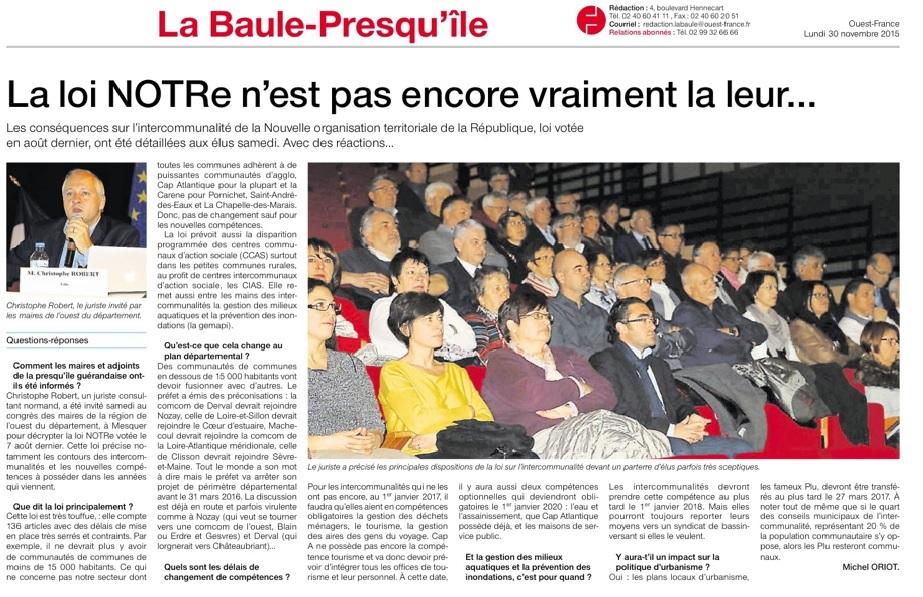 OuestFrance30novembre2015